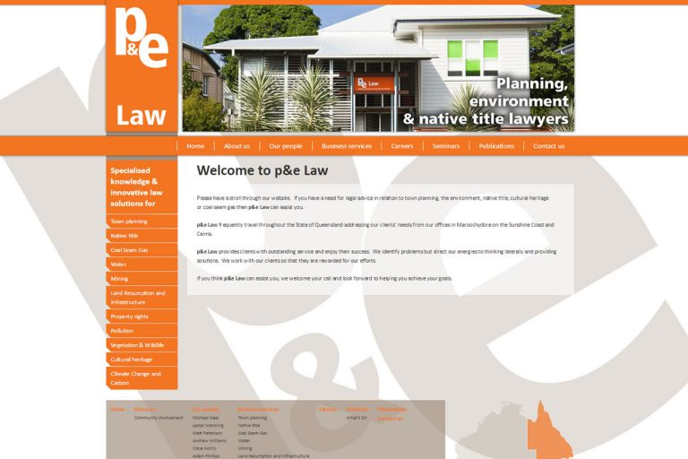 P and E Law